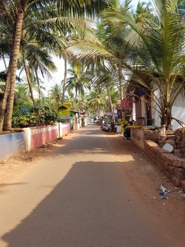India - Agonda high street 2 - Copy