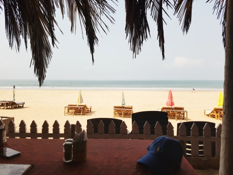 India - Palolem beach view